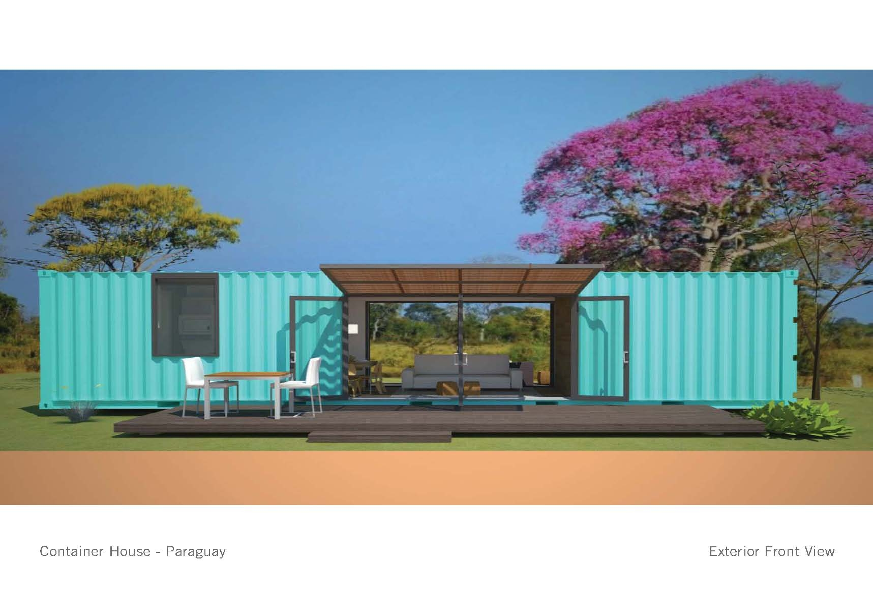 Container House Small Project Awards Aia Chicago