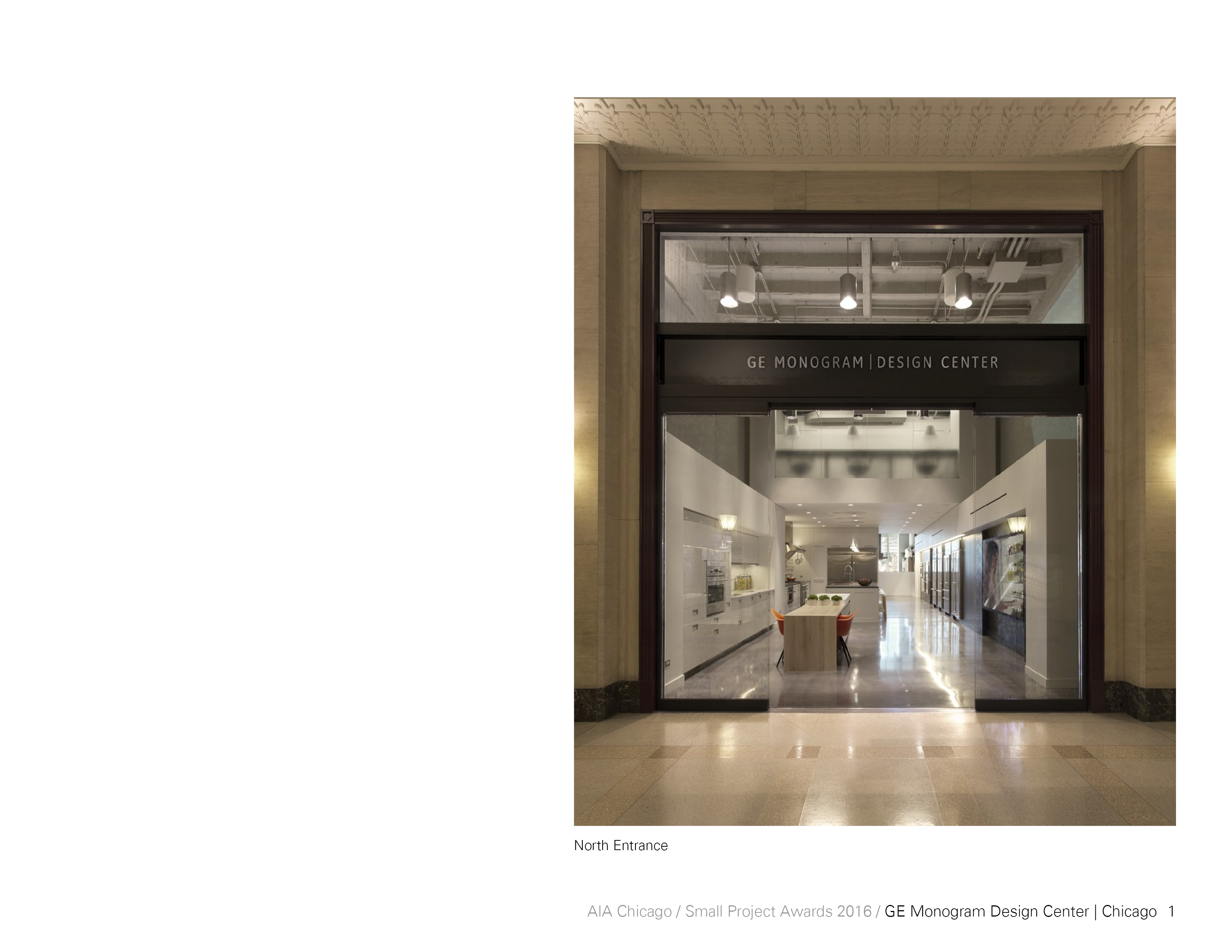 Ge Monogram Design Center Small Project Awards Aia Chicago