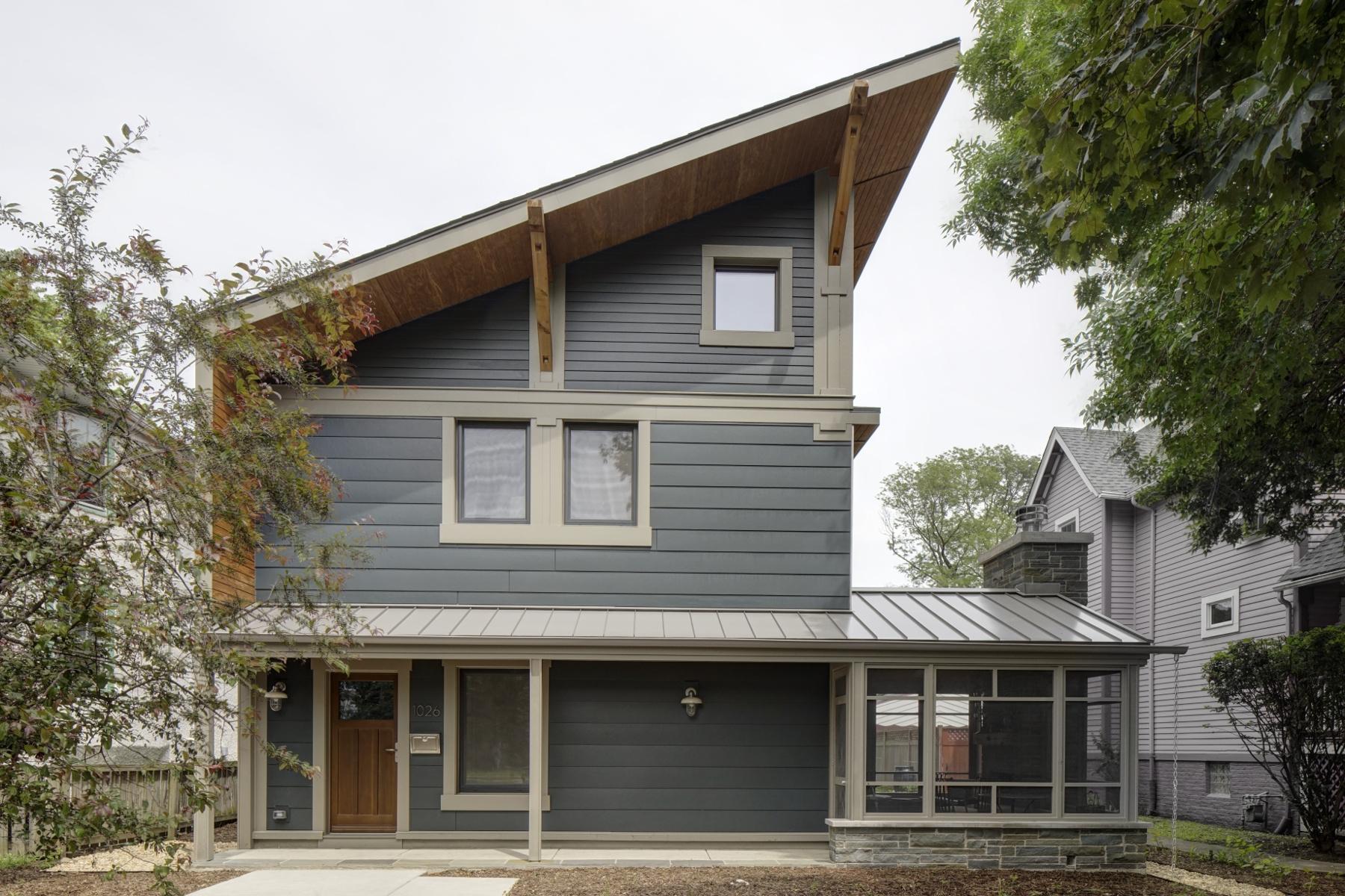Right Sized Passive Home In Oak Park IL