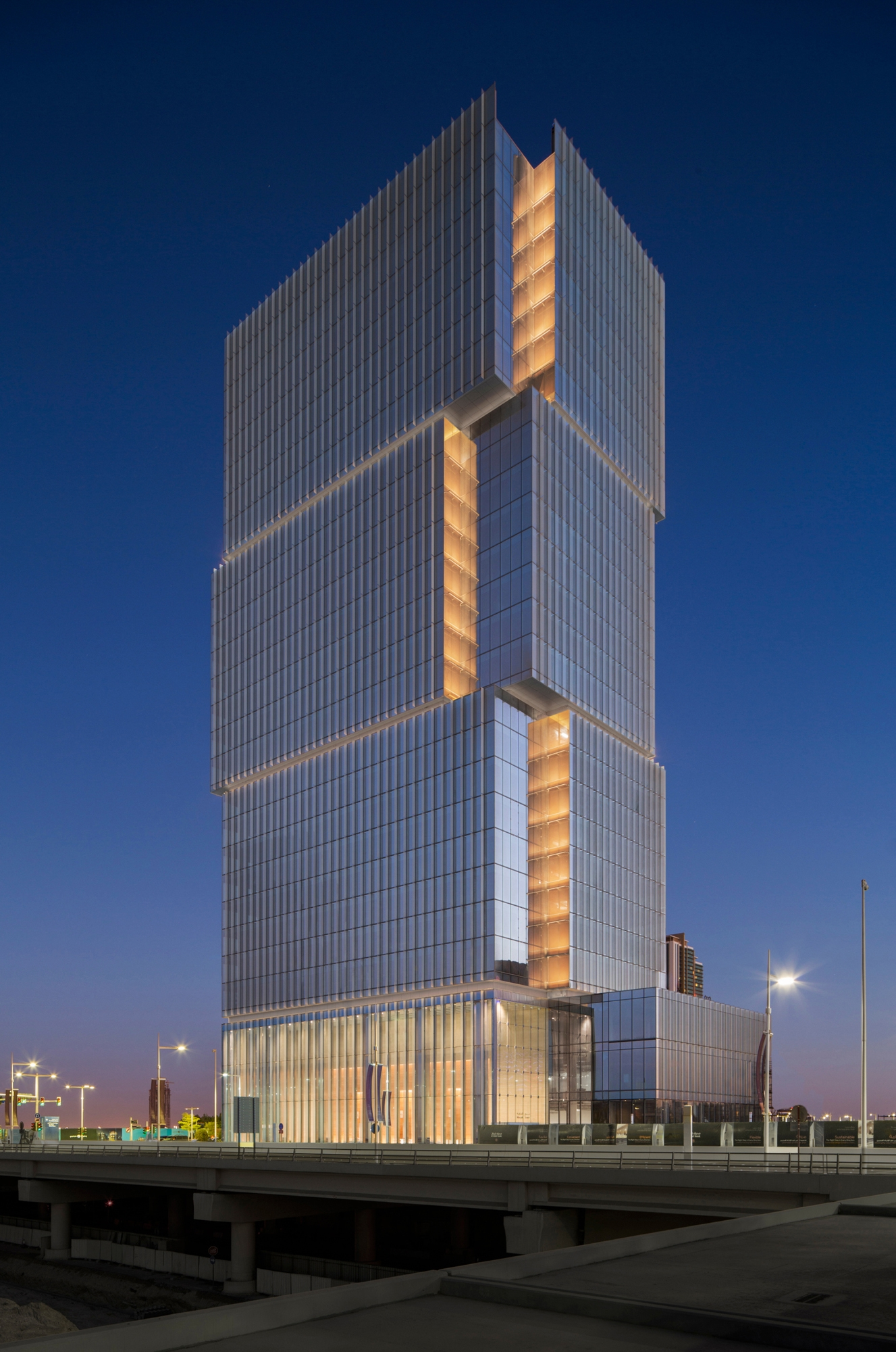 Al hilal bank office tower small project awards aia for Hispano international decor llc abu dhabi