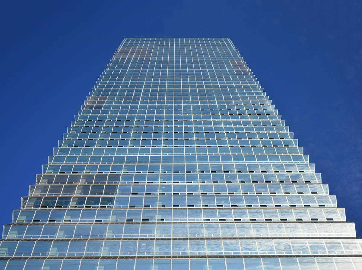 Fki Tower Bipv Exterior Wall Small Project Awards Aia